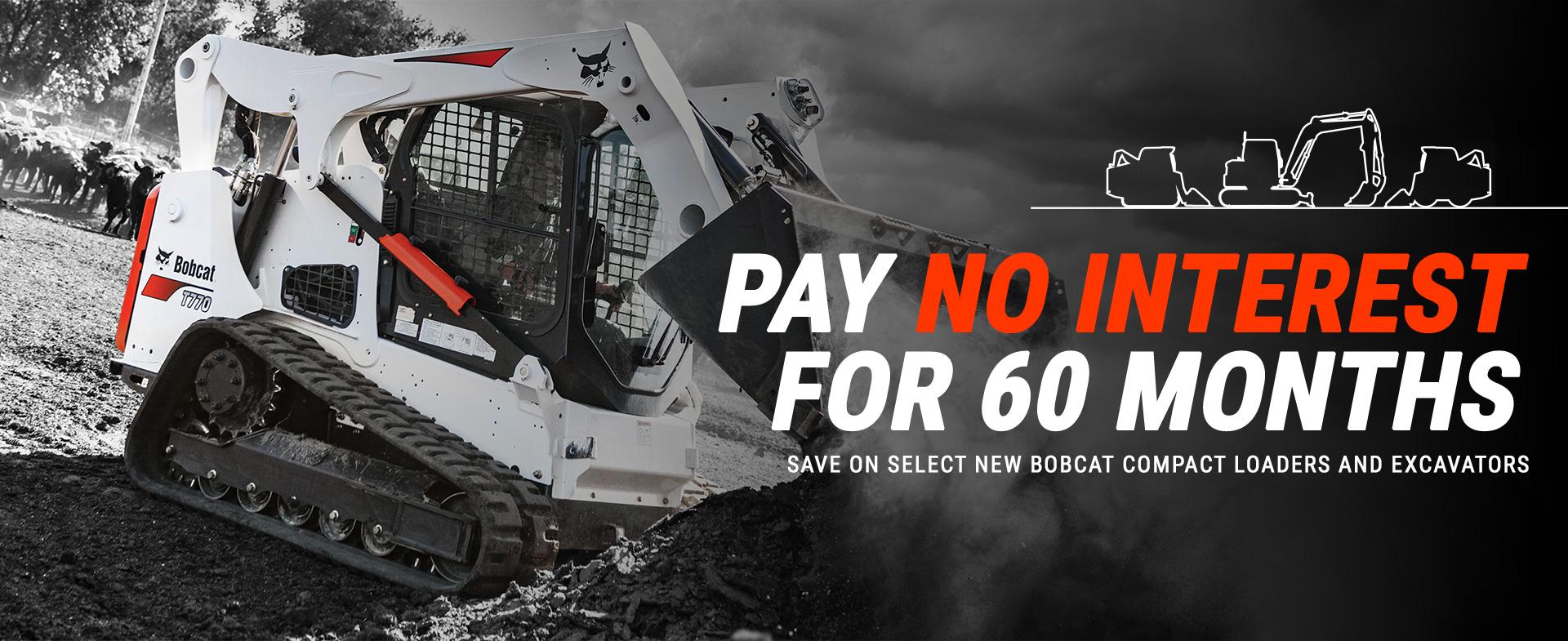 bobcat excavators loaders